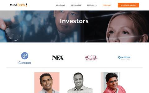 Investors | MindTickle