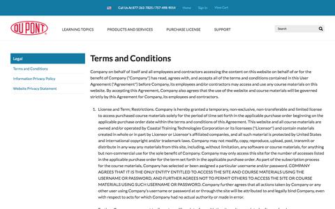 Screenshot of Terms Page coastalflix.com - Terms and Conditions - captured Feb. 27, 2018
