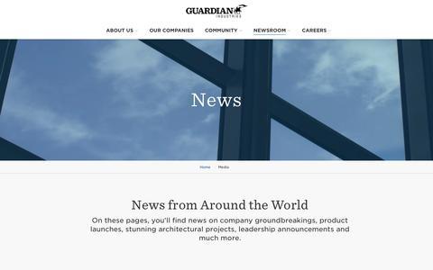 Screenshot of Press Page guardian.com - News Listing - captured Oct. 6, 2016