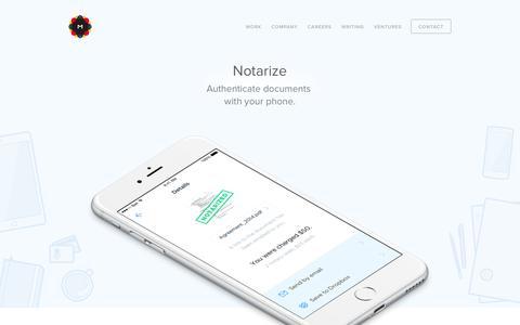 MetaLab - Notarize