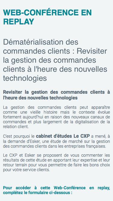 Dématérialisation des commandes clients : Revisiter la gestion des commandes clients à l'heure des nouvelles technologies