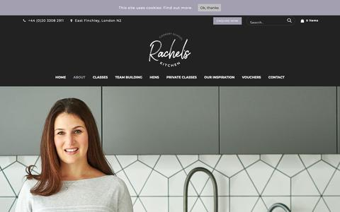 Screenshot of About Page rachels-kitchen.com - About – Rachels Kitchen - captured Oct. 18, 2018