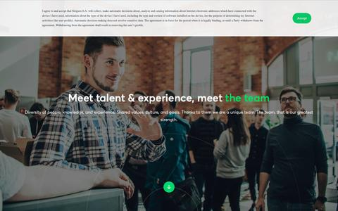 Screenshot of Team Page netguru.com - Netguru Expert Team | Netguru - captured May 14, 2019