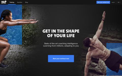 Intensive workouts & individual training plans | FREELETICS