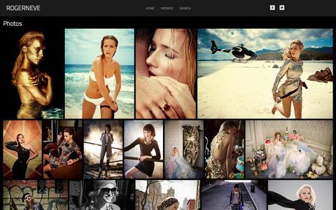 Screenshot of Home Page rogerneve.com - rogerneve - captured Oct. 9, 2014