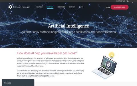 Artificial Intelligence – Crimson Hexagon