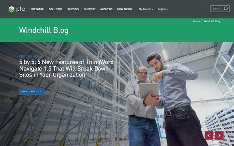 Windchill Blog | PTC
