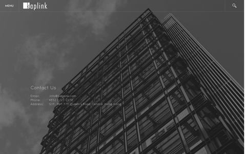 Screenshot of Contact Page kaplink.com - Contact Us - Kaplink - captured Nov. 27, 2016
