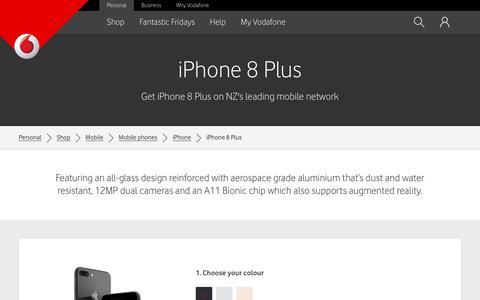 iPhone 8 Plus - Vodafone NZ