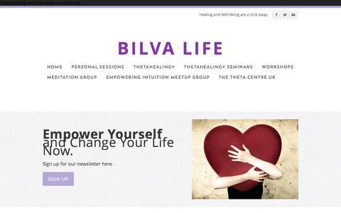 Screenshot of Blog bilvalife.com - Bilva life - how to forgive - captured March 18, 2016