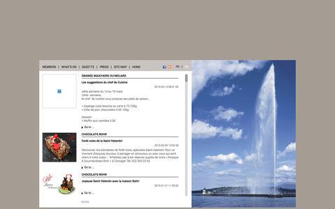Screenshot of Press Page commerce-qualite.com - Commerce & Qualité - News - captured June 2, 2016