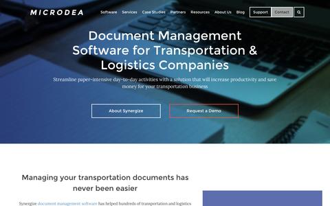 Document Management Software by Microdea