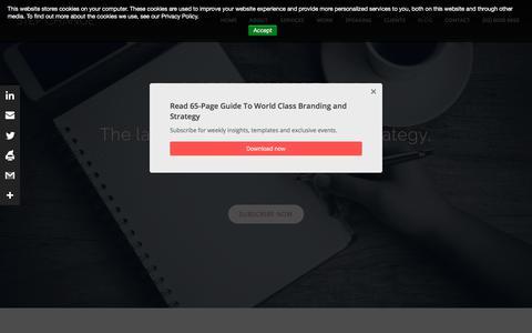 Screenshot of Team Page hellostepchange.com - Blog - Step Change - Strategy, Leadership, Digital, Creativity   Culture & Leadership - captured Sept. 21, 2018