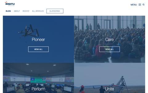 Screenshot of Blog insitu.com - Insitu - Insitu Blog | An Insight About Our Work - captured Sept. 25, 2018