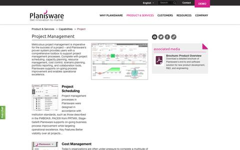 Project Management | Planisware