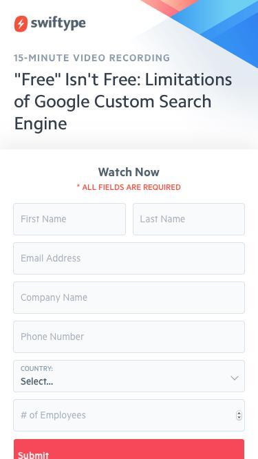 """Free"" Isn't Free: Limitations of Google Custom Search Engine"