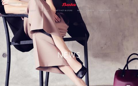 Screenshot of Press Page bata.com.sg - Bata | Quality Shoes and Bags for Women, Men and Kids Since 1894 - captured Nov. 22, 2016