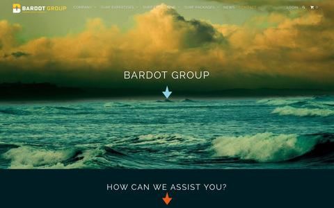 Screenshot of Contact Page bardotgroup.com - Our skilled staff will contact you within the next business day. - BARDOT GROUP - captured Nov. 18, 2016