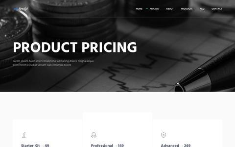"Screenshot of Pricing Page abckredyt.pl - Metronic ""Asentus"" Frontend Freebie - captured Nov. 20, 2018"