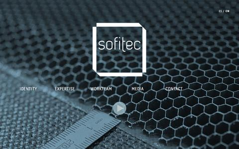Screenshot of Home Page sofitec.es - Sofitec, accurate is an attitude. International aerospace industry - captured Sept. 30, 2014
