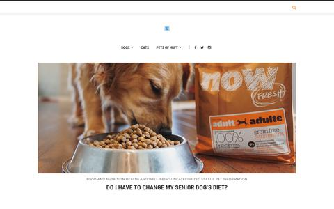 Screenshot of Blog headsupfortails.com - Dog Blog India - Dog Articles, Pet Related Stories | Headsupfortails.com - captured April 14, 2019