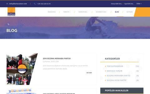 Screenshot of Blog kartacatour.com - Blog | Kartaca Turizm - captured Nov. 15, 2018