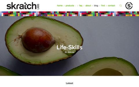 Screenshot of Blog skratchlabs.com - blog — Skratch Labs Blog - captured Feb. 6, 2016