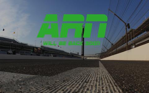 Screenshot of Home Page autoracingnews.net - Auto Racing News - captured June 28, 2018