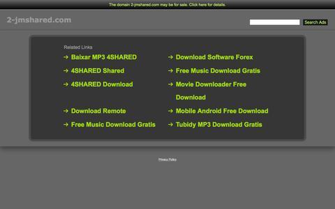 Screenshot of Home Page 2-jmshared.com - 2-Jmshared.com - captured March 1, 2016