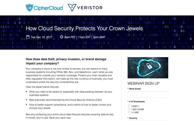 Why Your Data is at Risk?  How CASB Protects Your Crown Jewels. | CipherCloud