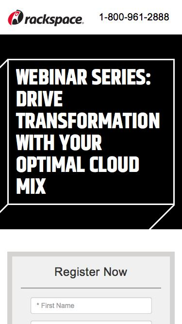 Drive Transformation With Your Optimal Cloud Mix – Overcoming the Top Three Challenges of Application Management