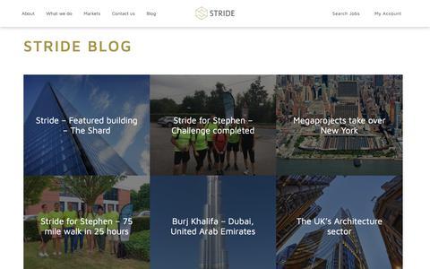 Screenshot of Blog oleum-resourcing.com - Blog - Stride Recruitment - captured Nov. 17, 2018