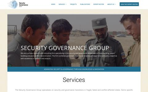 Screenshot of Home Page secgovgroup.com - Security Governance Group | Advancing security and governance through knowledge and innovation - captured Nov. 28, 2016