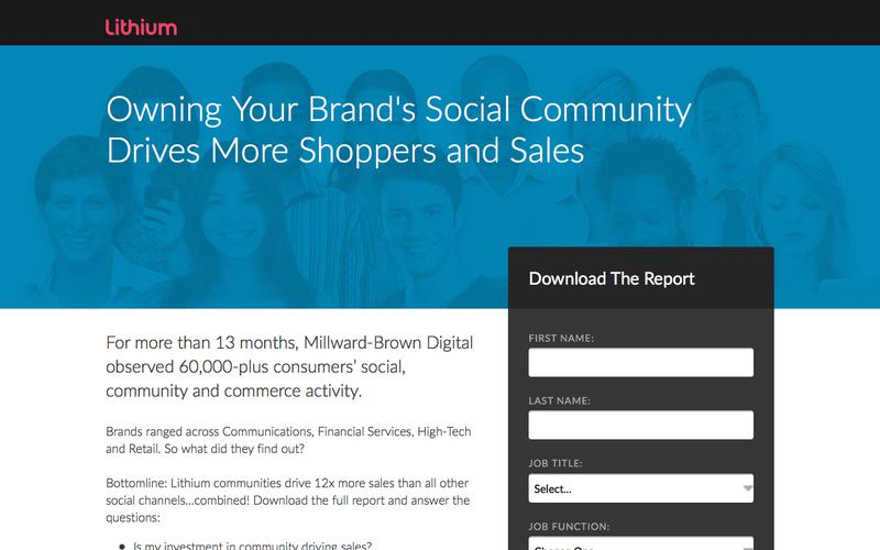 Owning Your Brand's Social Community | Lithium Resources