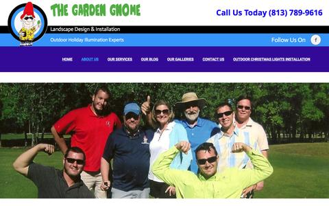 Screenshot of About Page thegardengnome.net - About Us - The Garden Gnome - captured Nov. 30, 2016