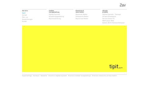 Screenshot of Home Page 2av.de - Start - 2av - captured Nov. 5, 2017