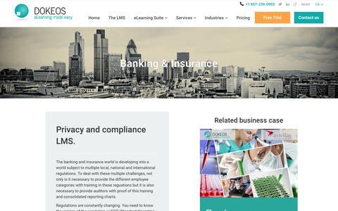 Banking & Insurance -