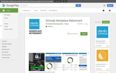 Schwab Workplace Retirement - Apps on Google Play