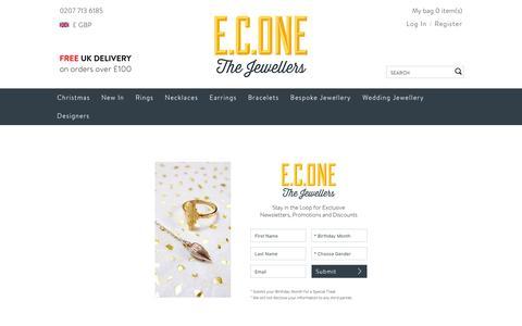 Screenshot of Signup Page econe.co.uk - Sign Up - captured Dec. 5, 2015