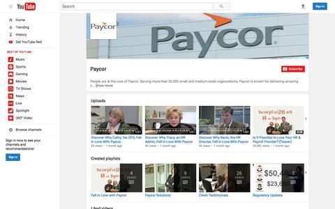 Paycor  - YouTube