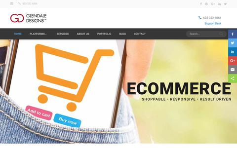Ecommerce Development & Design, Phoenix Arizona - Glendale Designs