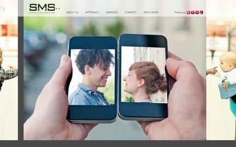 Screenshot of Home Page sms-inc.com - Home - SMS Marketing Services, Inc. - captured Sept. 24, 2014
