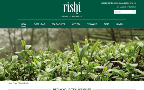 Single Origin: Rishi Tea