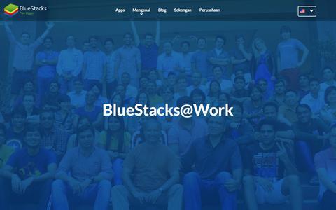 Screenshot of Jobs Page bluestacks.com - Bekerja di Bluestacks - captured June 8, 2017