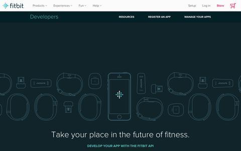Fitbit Developer API