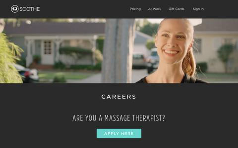 Soothe Careers