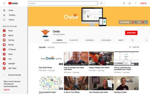 Owler - YouTube