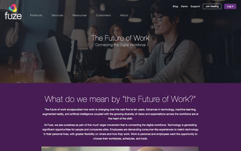 The Future of Work: Connecting the Digital Workforce I Fuze