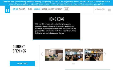 Hong Kong | Nielsen Careers