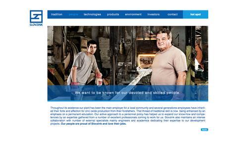 Screenshot of Team Page slovzink.sk - Slovzink   Our people - captured Oct. 8, 2014